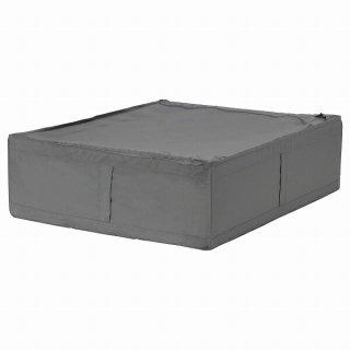 IKEA イケア 収納ケース ダークグレー 69x55x19cm n50472988 SKUBB