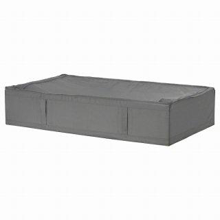 IKEA イケア 収納ケース ダークグレー 93x55x19cm n10472990 SKUBB