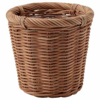 IKEA イケア 鉢カバー 籐 12cm n90454888 KAKTUSFIKON