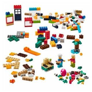 IKEA イケア レゴブロック201ピースセット ミックスカラー  ブロックのみ コラボ n30509841 BYGGLEK