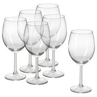 IKEA イケア ワイングラス クリアガラス 440ml n50473025 SVALKA