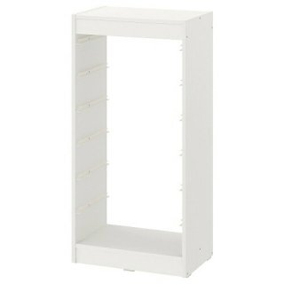 IKEA イケア  フレームホワイト46x30x95 cm n20351431 TROFAST