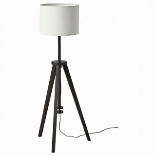 IKEA イケア フロアランプ ブラウン アッシュ ホワイト n50484854 LAUTERS