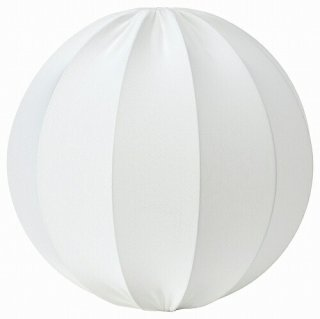 IKEA イケア ペンダントランプシェード 丸形 ホワイト 50cm n10437949 REGNSKUR