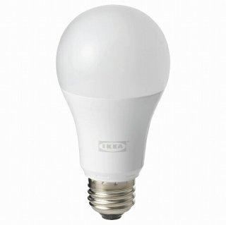 IKEA イケア LED電球 E26 1000ルーメン ワイヤレス調光 ホワイトスペクトラム 球形 オパールホワイト n50408493 TRADFRI