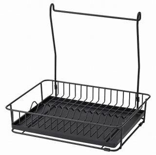 IKEA イケア 水切り ブラック m40448767 HULTARP