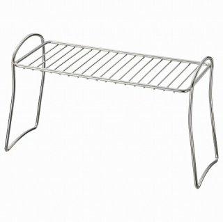 IKEA イケア 水切り棚 ステンレススチール13x32cm m80473868 VALVARDAD