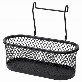 IKEA イケア 小物入れ ブラック メッシュ31x16cm m90448835 HULTARP