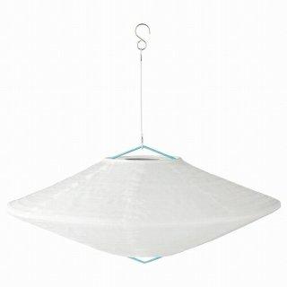 IKEA イケア LED太陽電池式ペンダントランプ 屋外用 球形 ダイヤモンド形45cm m40486924 SOLVINDEN