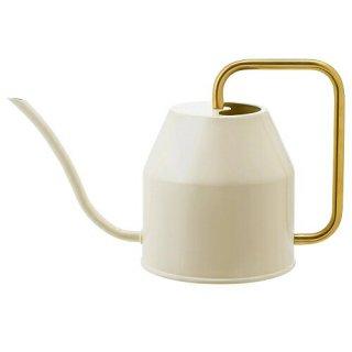 IKEA イケア じょうろ アイボリー ゴールドカラー 0.9L m90394154 VATTENKRASSE
