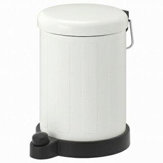 IKEA イケア ゴミ箱 ホワイト4L m60494027 TOFTAN