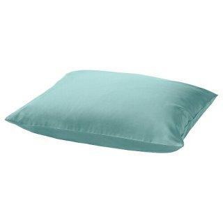 IKEA イケア 枕カバー グレーターコイズ 50x60cm m70486625 NATTJASMIN