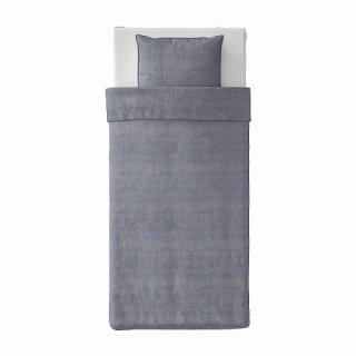IKEA イケア 掛け布団カバー&枕カバー ダークブルー シングル 150x200 50x60cm m10483677 KOPPARBLAD