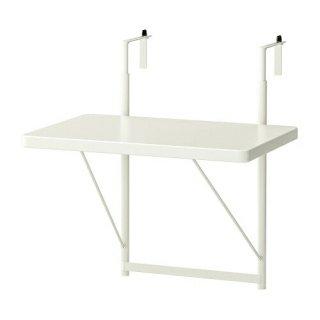IKEA イケア バルコニーテーブル ホワイト 50cm m50461348 TORPARO