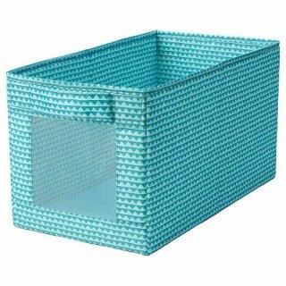 IKEA イケア ボックス ターコイズ25x44x25cm m40462268 UPPRYMD