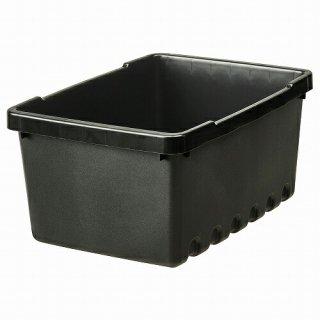 IKEA イケア 収納ボックス ブラック25x17x12cm 4L m60440765 UPPSNOFSAD