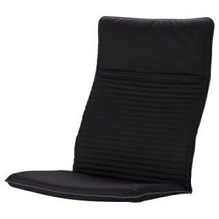 IKEA イケア パーソナルチェア用クッション スキフテボー クニーサ ブラック m10395143 【クッションのみ】POANG
