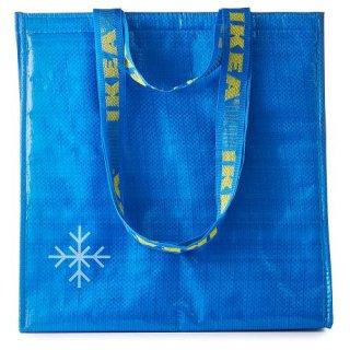 IKEA イケア クーラーバッグ ブルー 38x40cm m30448070 FRAKTA