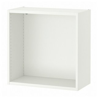 IKEA イケア ウォール収納 ホワイト 60x30x60cm m80433523 SMASTAD