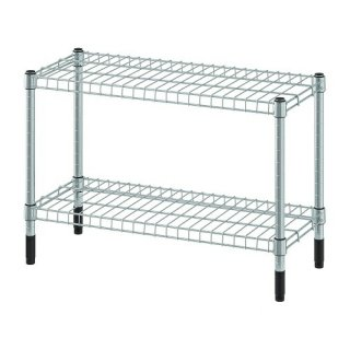 IKEA イケア シェルフユニット 亜鉛メッキ 60x25x40cm m40483077 OMAR