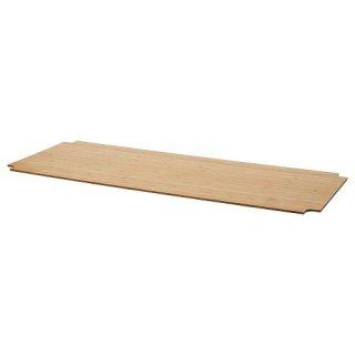 IKEA イケア ワイヤーシェルフ用カバー 竹 92x36cm m90487959 OMAR