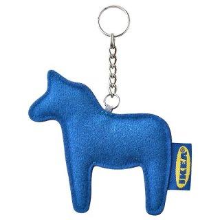 IKEA イケア キーリング ブルー m20495769 EFTERTRADA