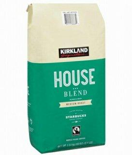 Kirklandカークランドシグネチャー スターバックス ハウスブレンド コーヒー (豆) 1.13kg cos6979000
