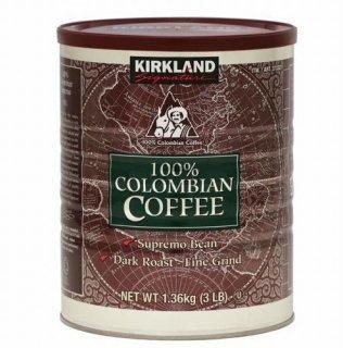 Kirklandカークランドシグネチャー コロンビアコーヒー(粉)1.36kg cos373327