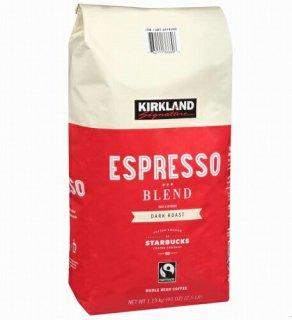 Kirklandカークランドシグネチャー スターバックス エスプレッソブレンド コーヒー(豆)1.13kg cos6979200