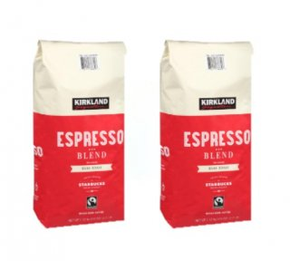 Kirklandカークランドシグネチャー スターバックス エスプレッソブレンド コーヒー(豆)1.13kg 2袋セット cos6979200x2