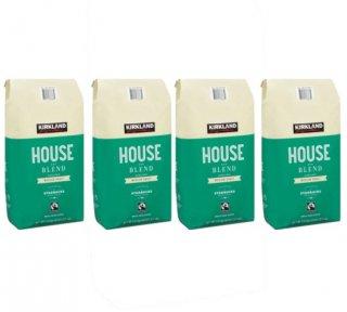 Kirklandカークランドシグネチャー スターバックス ハウスブレンド コーヒー (豆) 1.13kg 4袋セット cos6979000x4