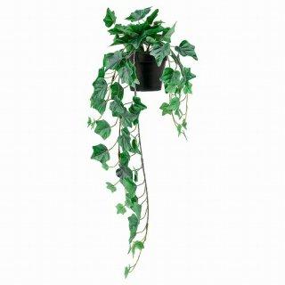 IKEA イケア 人工観葉植物 室内 屋外用 つり下げ型 ヘデラ 12x69cm m10461152 FEJKA