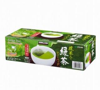 Kirklandカークランドシグネチャー 緑茶ティーバッグ 100袋 cos979855