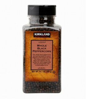 Kirklandカークランドシグネチャー ブラックペッパー (粒) 399g cos605952