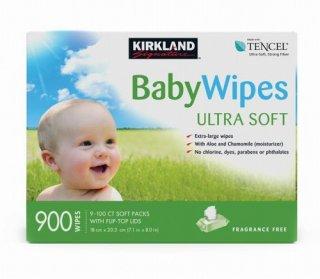 Kirklandカークランドシグネチャー赤ちゃん用 おしりふき 900枚 cos1246810
