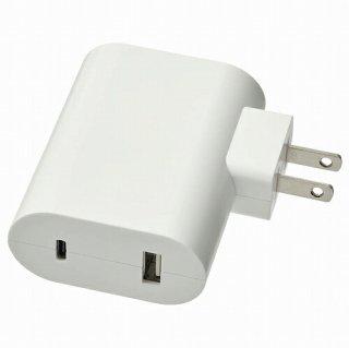 IKEA イケア 23W USB充電器 ホワイト m50461188 ASKSTORM