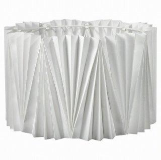 IKEA イケア ランプシェード プリーツ入 ホワイト 33cm m60501594 KUNGSHULT