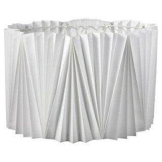 IKEA イケア ランプシェード プリーツ入 ホワイト 42cm m70406228 KUNGSHULT