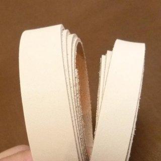 セット商品 本ヌメ皮革テープ 5本セット(無着色・ナチュラル)20mm幅 hd0014x5