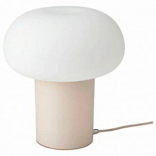 IKEA イケア テーブルランプ ベージュ オパールホワイト ガラス 28cm m40404990 DEJSA