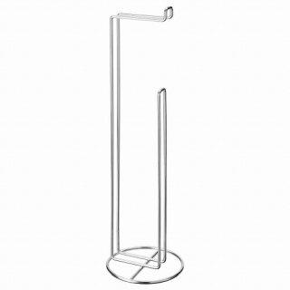 IKEA イケア トイレットペーパースタンド 亜鉛メッキ m40454027 KROKFJORDEN