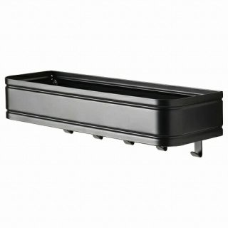 IKEA イケア ウォールシェルフ フック5個付き m30478024 LILLASJON