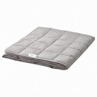 IKEA イケア ウェイトブランケット 薄手 ダークグレー 150x200cm 10kg m90505091 ODONVIDE