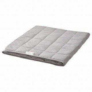 IKEA イケア ウェイトブランケット 薄手 ダークグレー 150x200cm 6kg m60503324 ODONVIDE