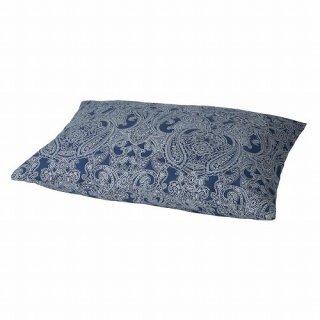 IKEA イケア 枕カバー ダークブルー ホワイト 50x60cm m70501579 JATTEVALLMO