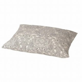 IKEA イケア 枕カバー ベージュ ダークグレー 50x60cm m50501486 JATTEVALLMO
