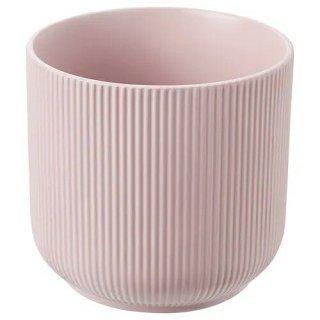IKEA イケア 鉢カバー 室内 屋外用 ピンク 12cm m90391532 GRADVIS