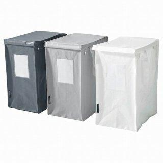 IKEA イケア 分別用バッグ ホワイト ダークグレー ライトグレー 22x35x45cm 35L 3ピース m30503863 DIMPA