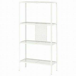 IKEA イケア シェルフユニット メタル ホワイト 60x25x116cm m60483873 BAGGEBO