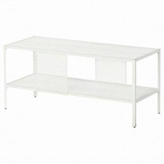 IKEA イケア テレビ台 メタル ホワイト 90x35x40cm m50483878 BAGGEBO